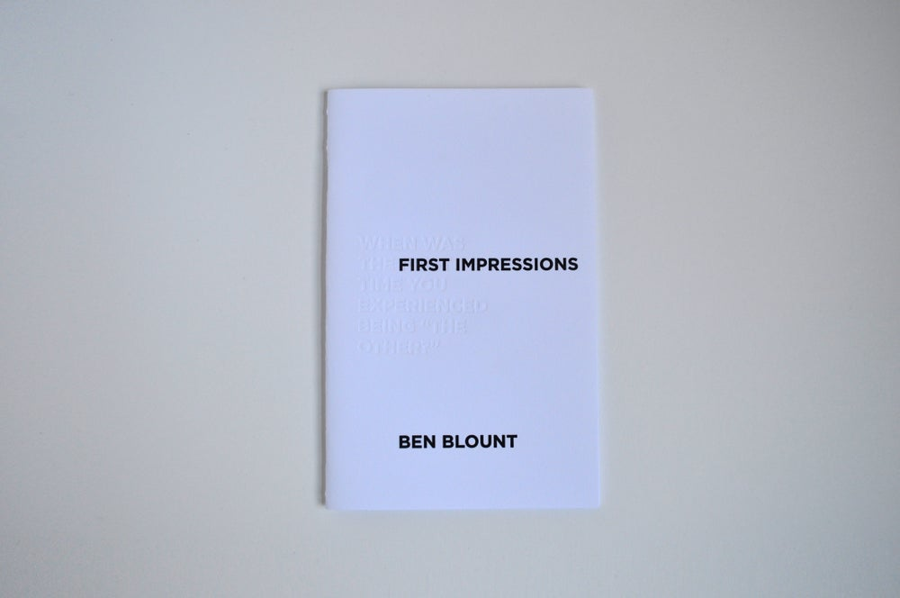 Image of First Impressions
