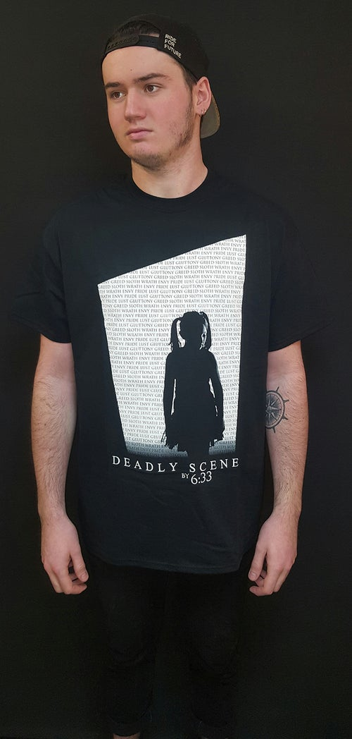 "Image of ""DEADLY SCENES - B&W Edition"" T-Shirt [NEW !]"