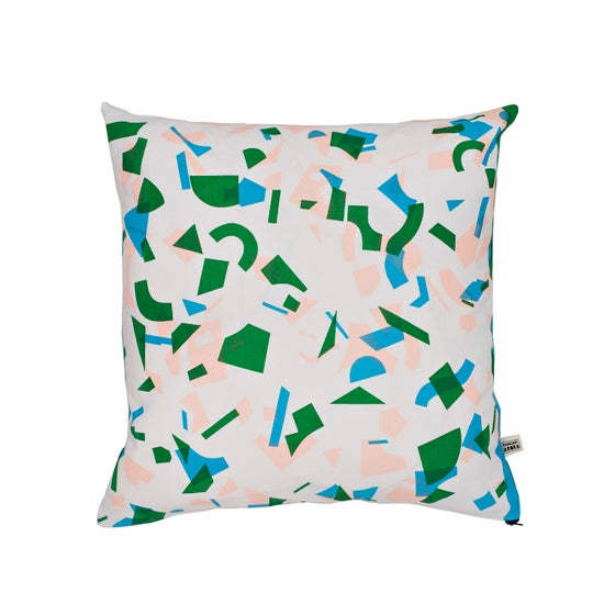 Image of Radium Random Forest Cushion by Kangan Arora - 20% off