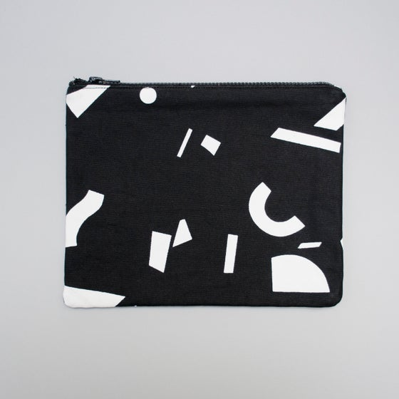 Image of Radium Mono Large flat purse by Kangan Arora