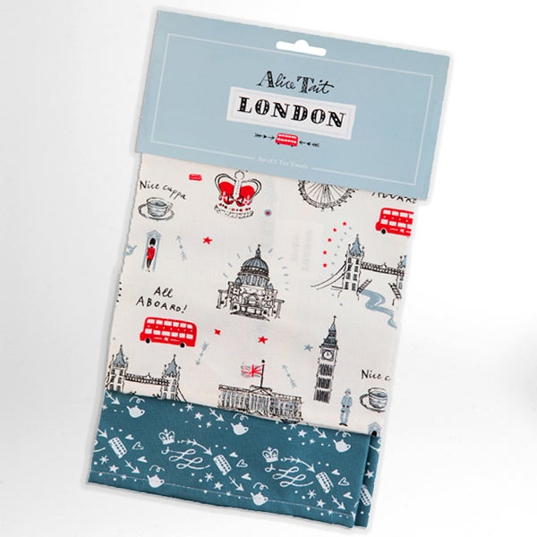 Alice Tait London 2 Tea Towel Set - Alice Tait Shop