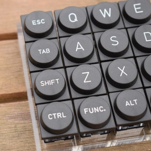 Image of TeleType Z-Series Planck Double-Shot Keyset