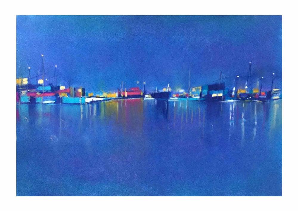 Image of Harbourside_2. 42 x 59.4cm