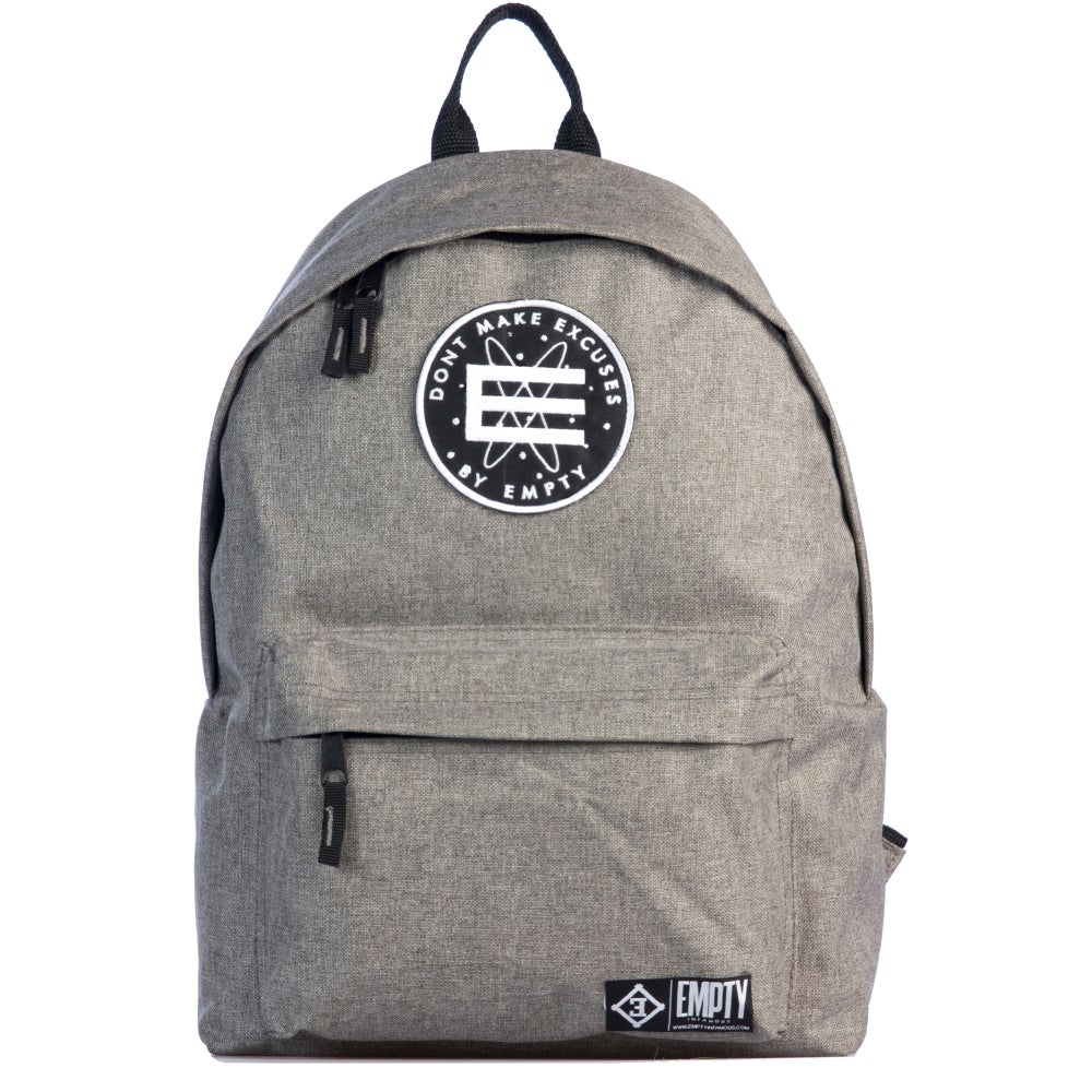 Image of Back Pack Grey.