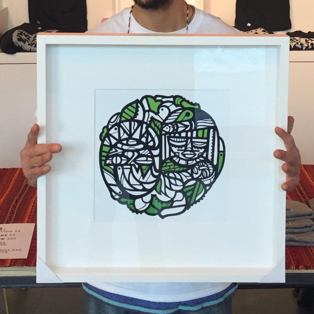 Image of Framed - Cenen Juntos Print