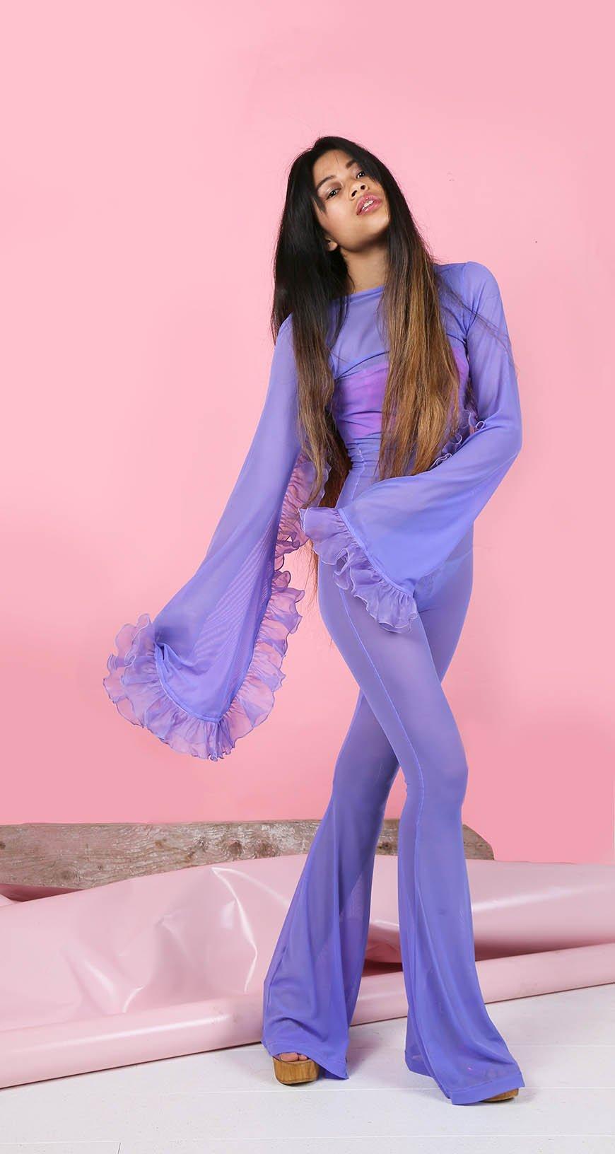 Image of SALE PRICE! Violette - Frou Frou Jumpsuit