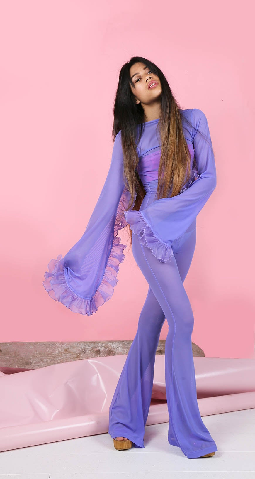 Image of SALE PRICE! Violette - Frou Frou Jumpsuit
