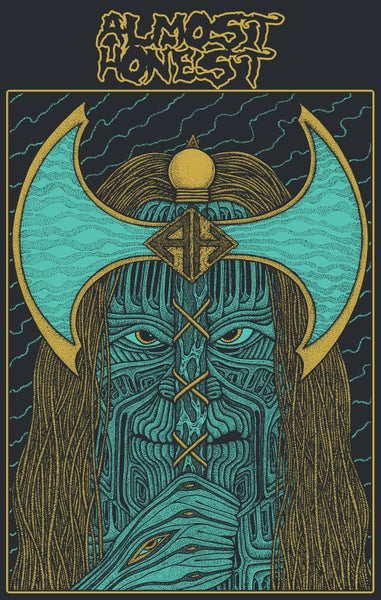 Image of Axe Face Poster