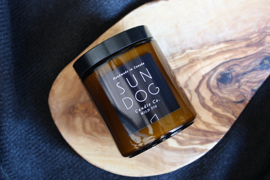 Image of WILD FIG - 8 oz SOY CANDLE