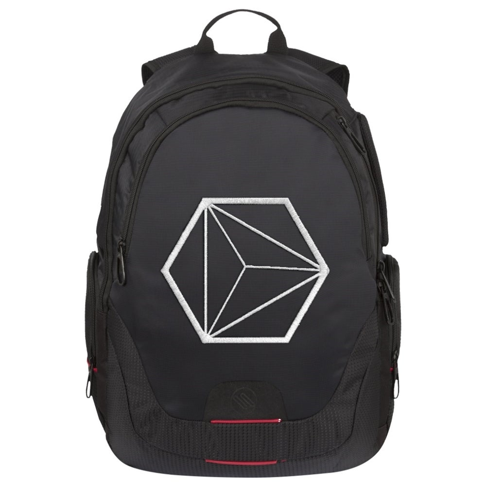 Image of Embroidered Computer Backpack V.I - I