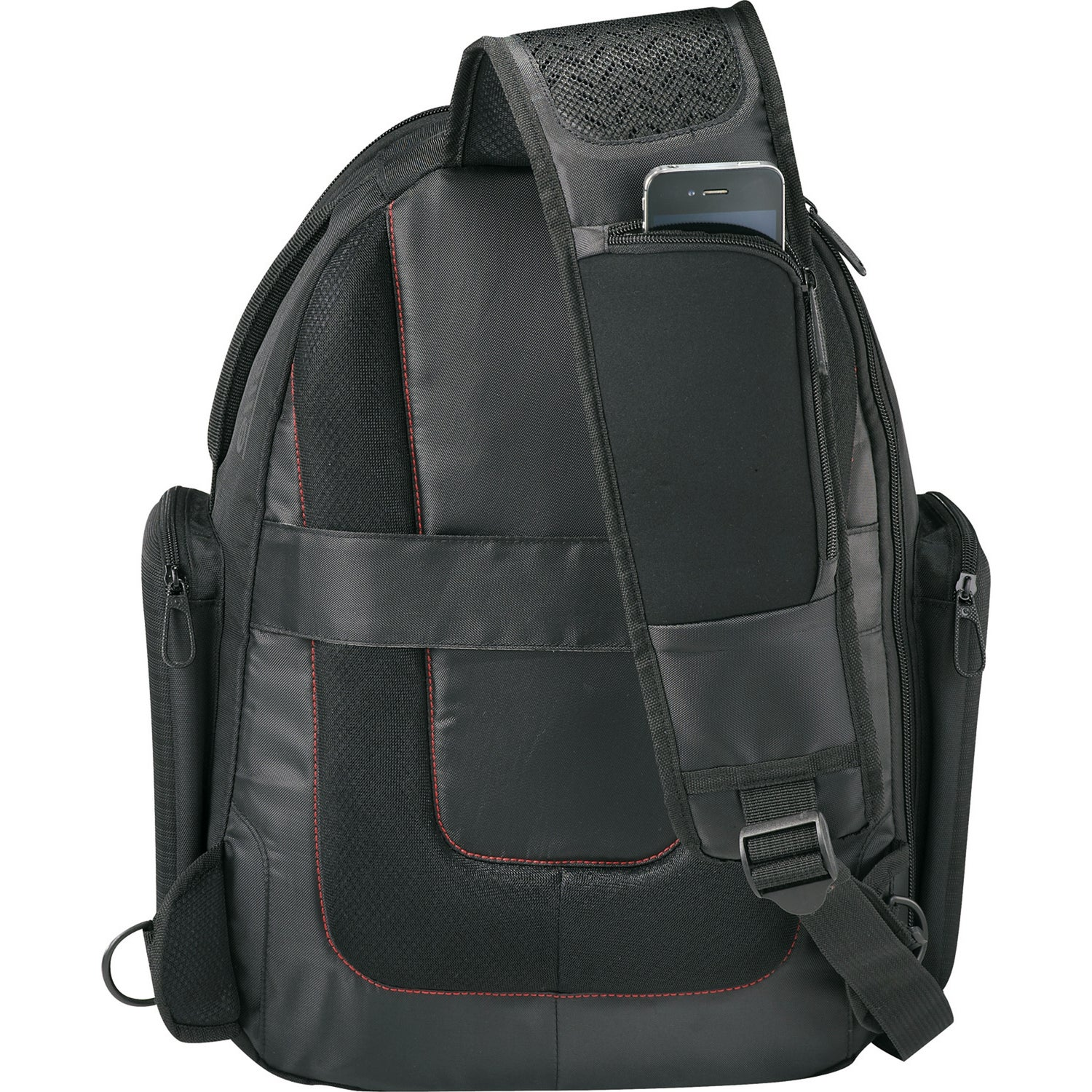 Image of Embroidered Computer Back Pack V.I