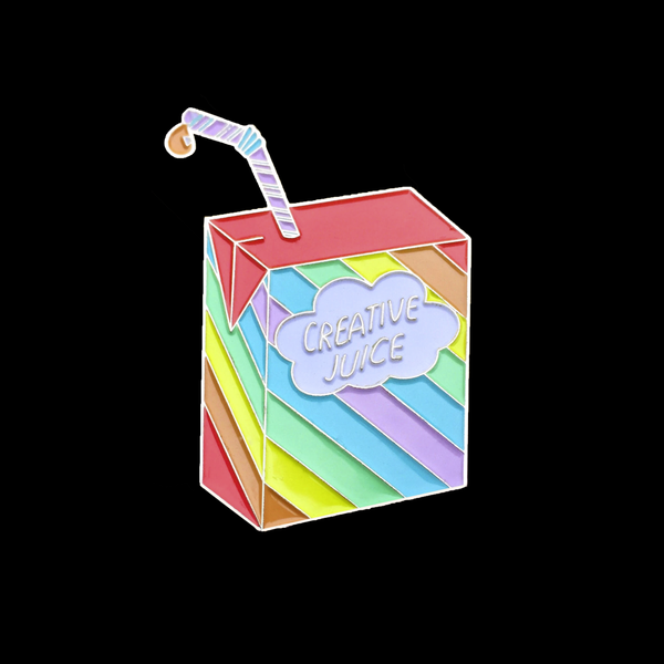 Image of Creative Juice Enamel Pin