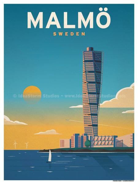 Image of Malmo Poster