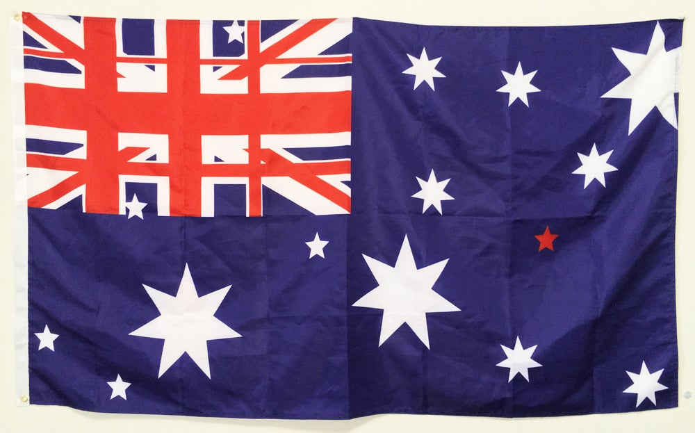 Image of THE TRIPLE FLAG