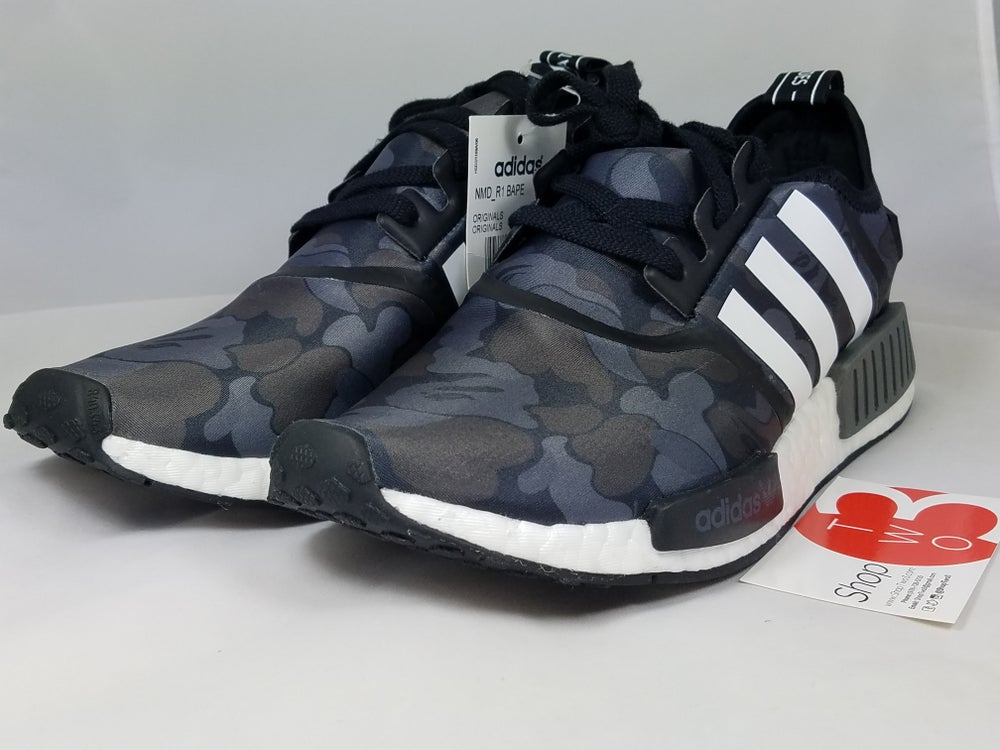 Image of Nmd_R1 Bape Black Camo