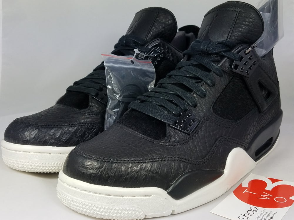 Image of Jordan Pinnacle 4 Black Pony Hair