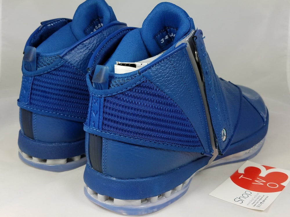 Image of Air Jordan 16 Retro Trophy Room  French Blue