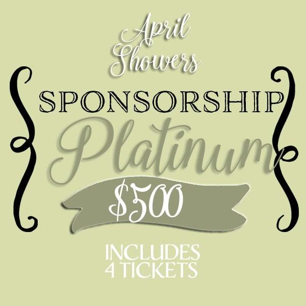Image of APRIL SHOWERS • Platinum Sponsorship