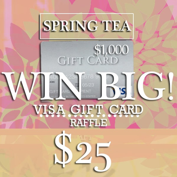 Image of SPRING TEA • VISA CARD Raffle Ticket