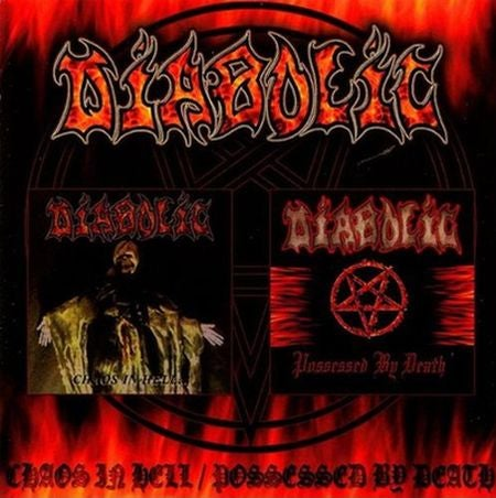 "Image of DIABOLIC "" Chaos In Hell/Possessed By Death "" CD"