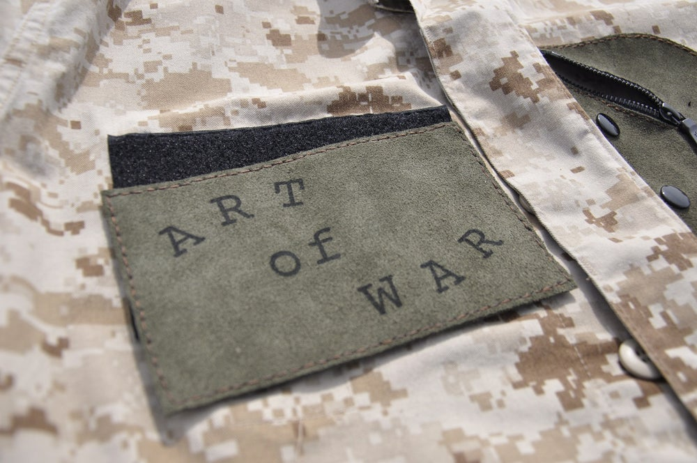 Image of ART OF WAR (1 of 1 Custom Jacket) Army 3
