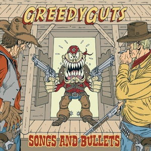 "Image of GREEDY GUTS ""Songs And Bullets"" CD/LP"