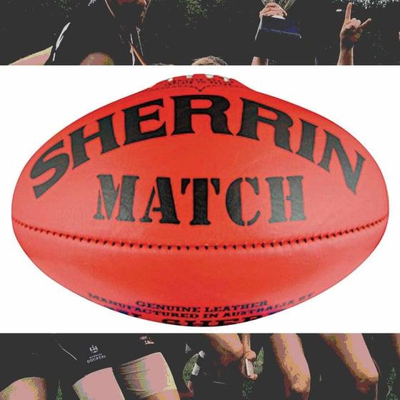 Image of Football Sherrin Match