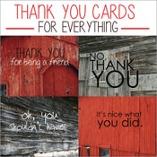 Image of Thank You Cards for Everything- ON SALE!