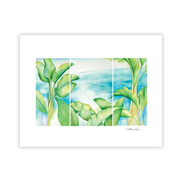 Image of Banana Palms, Archival Paper Print