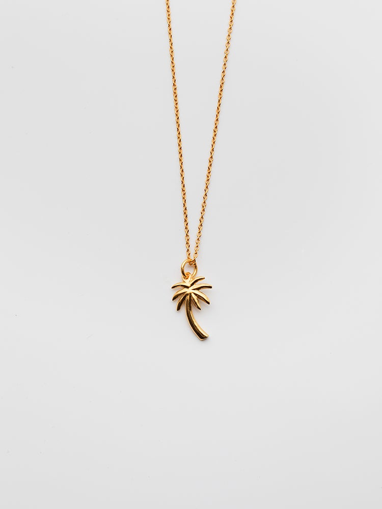Image of The Palm Tree Necklace