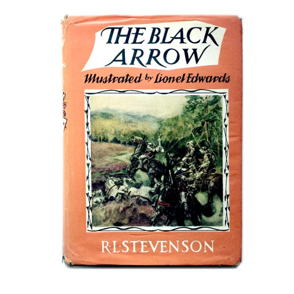 Image of R L Stevenson - The Black Arrow