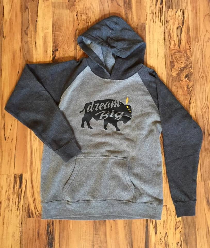 Image of Dream Big Youth Raglan Hoodie