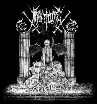 "Image of MANTICORE "" For Rats and Plague "" CD"