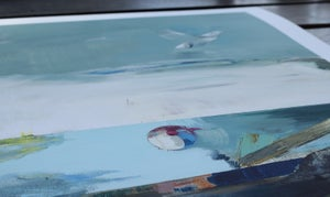 Image of Artprint / kunsttryk / 60x80cm
