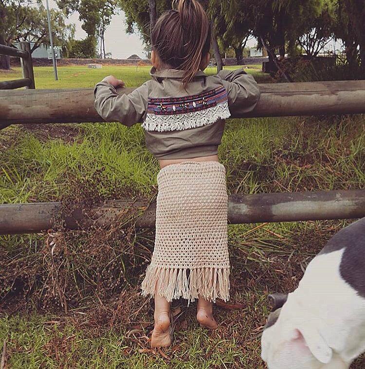Image of Gyspy Goddess Maxi Fringed Skirt
