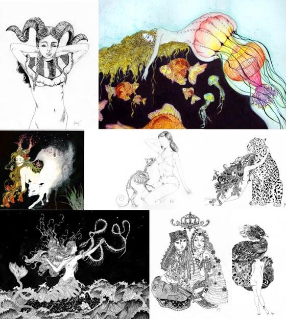 Image of Fine Art Prints- Signed