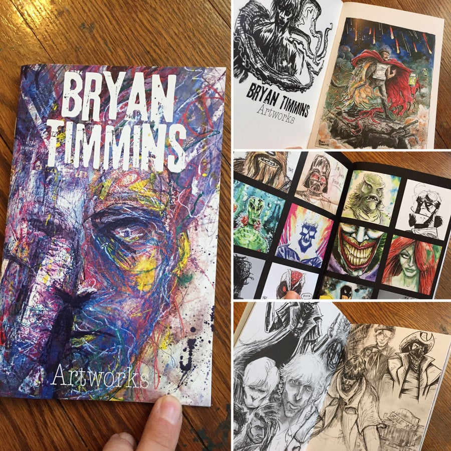 Image of Bryan Timmins Artworks I