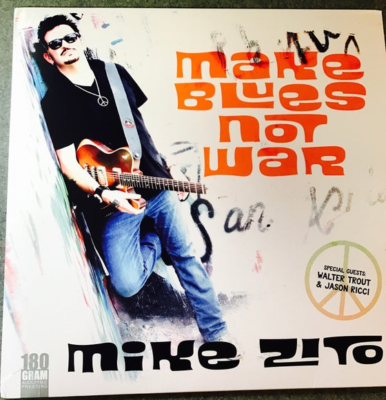 Image of Make Blues Not War Vinyl edition