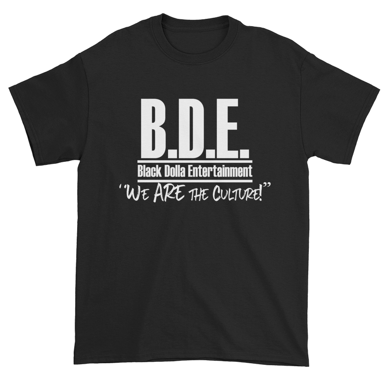 Image of BLACK - B.D.E. We Are The Culture T-Shirt