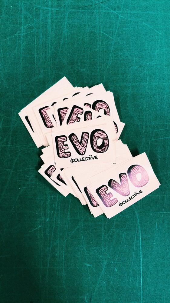 Image of EVO Stickers x2