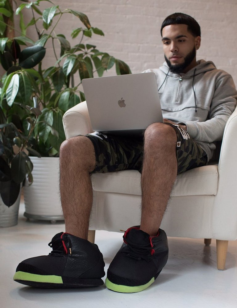 "Image of Exclusive ""YZY-SLR"" Sneaker Slippers"