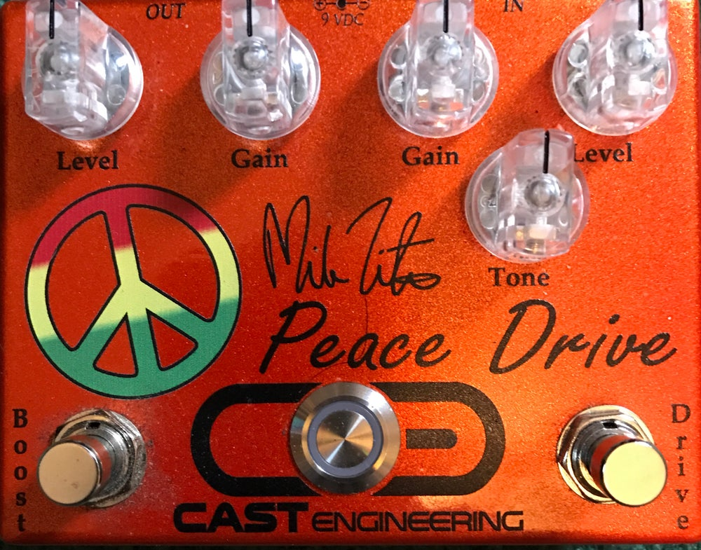 """Image of CAST ENGINEERING """"Mike Zito Peace Drive"""""""
