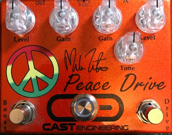 "Image of CAST ENGINEERING ""Mike Zito Peace Drive"""