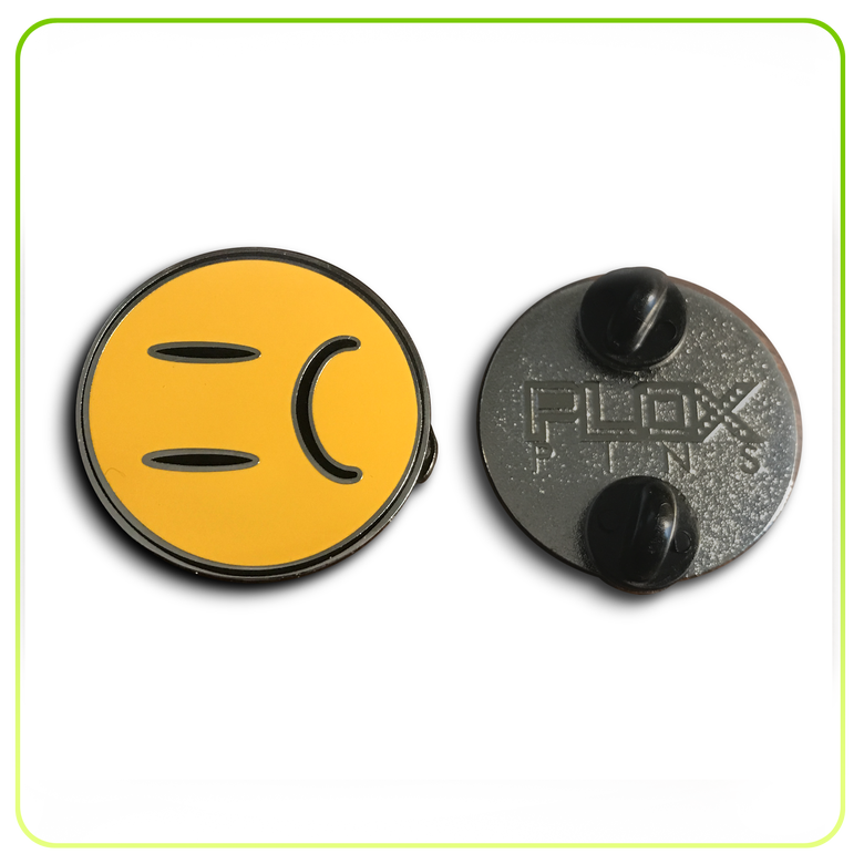 Image of PLOX Pin (Sad Emoji)