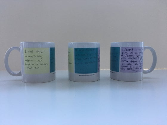 Image of Post-it Note Mug