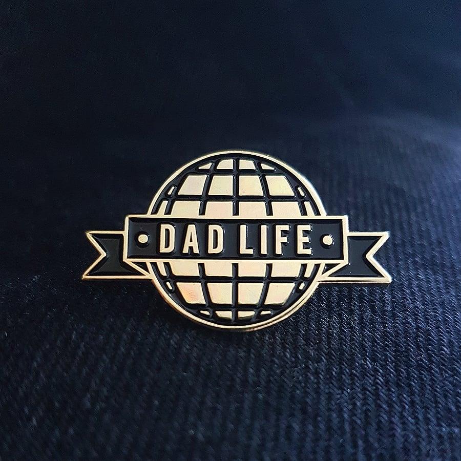 Image of Dad Life Enamel Pin