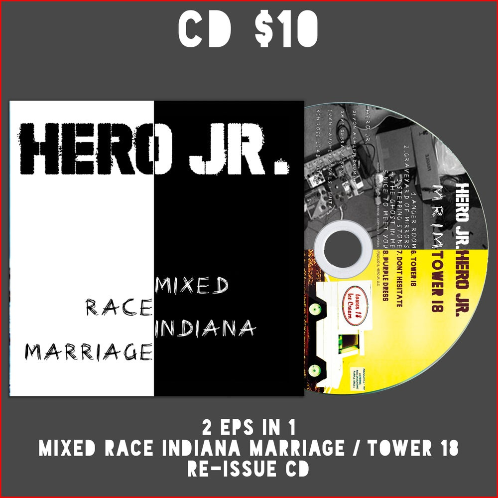 Image of MRIM ep (5 songs) / Tower 18 ep (3 songs) Split Album 2 in 1