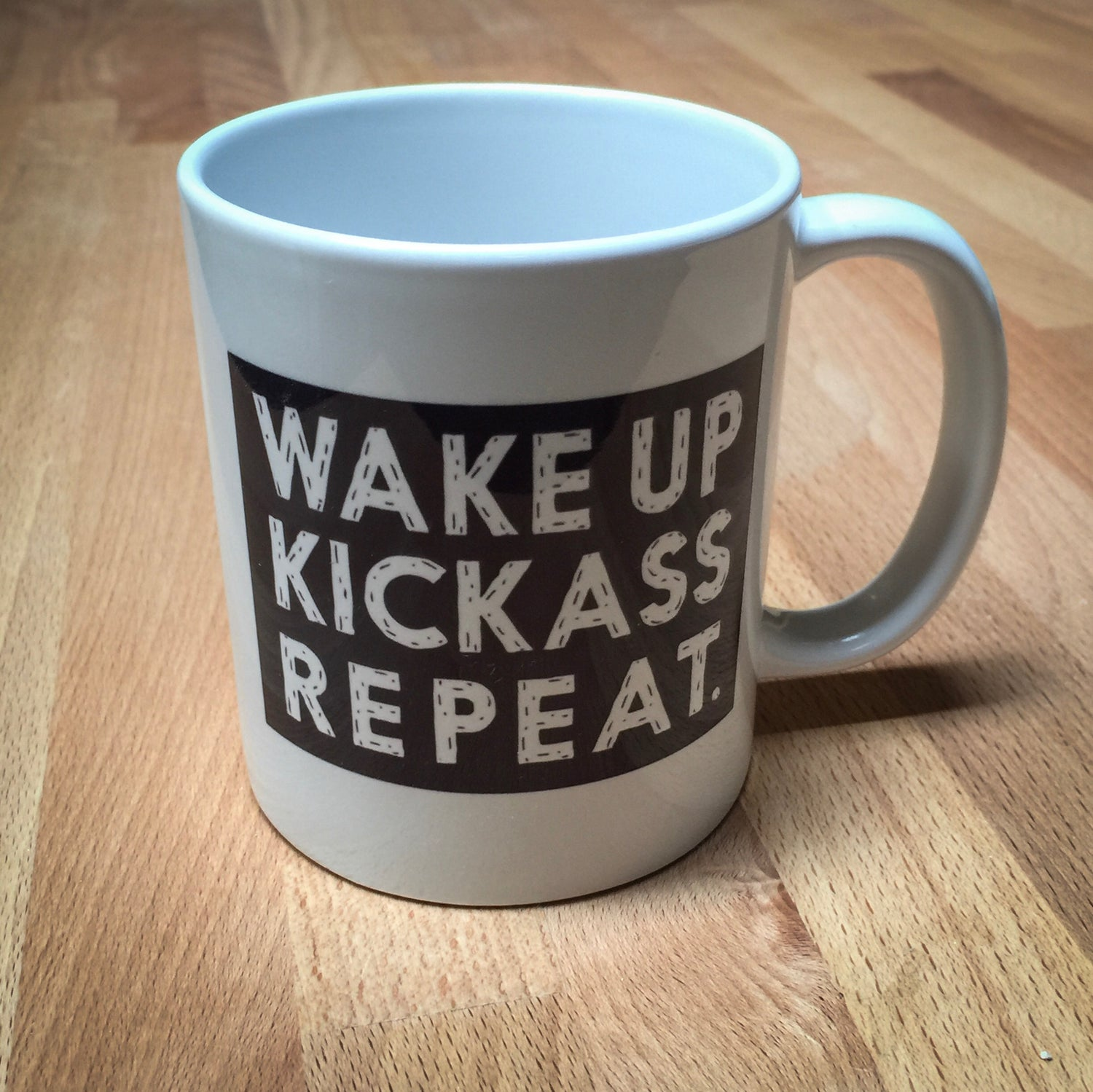 Image of New Mermaid Kickass Not Peggy Skate Coffee Mugs