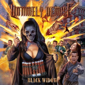 Image of Untimely Demise 'Black Widow' full-length CD