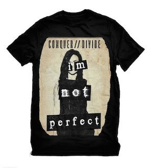 """Image of """"I'm Not Perfect"""" shirt"""